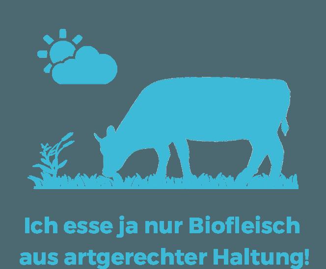 Vegane Mythen: Ich esse ja nur Biofleisch aus artgerechter Haltung!