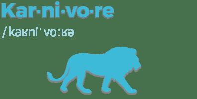 Illustration des Glossarbegriffs Karnivore