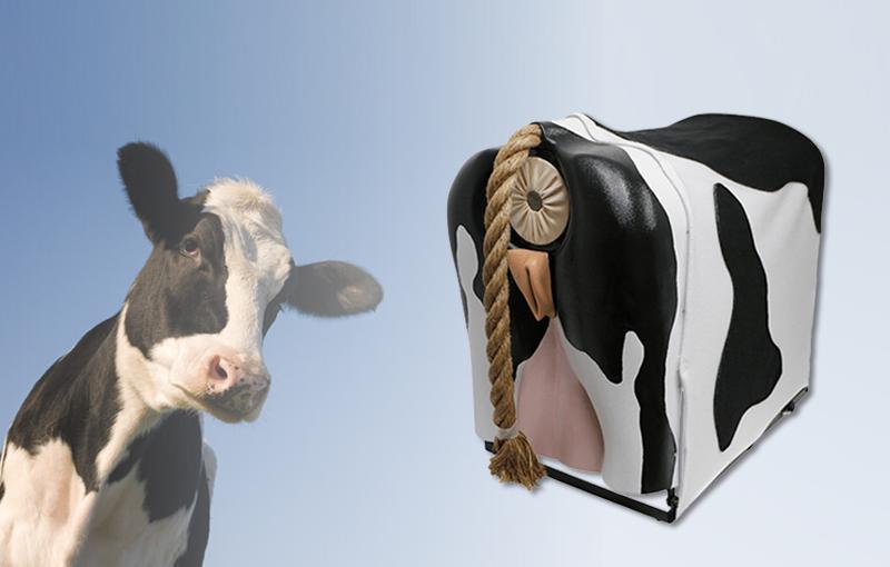 Simulator für die Zwangsbefruchtung von Kühen