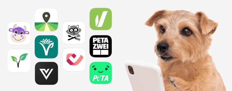 Überblick über vegane Apps