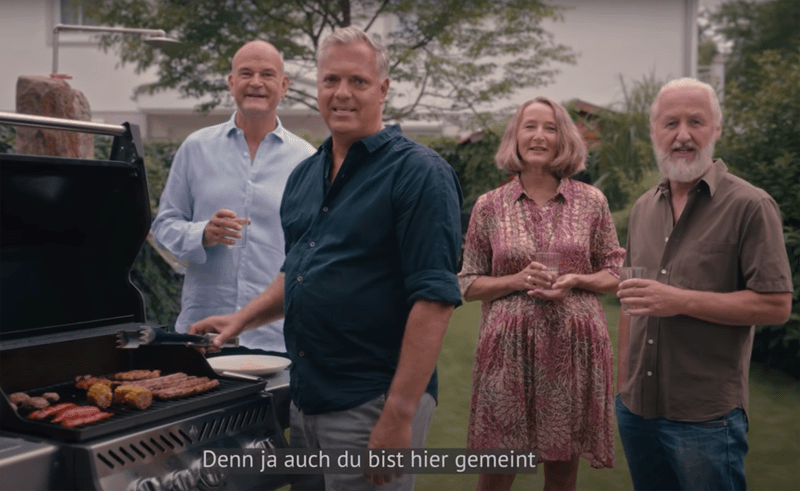 Grünen-Wahlspot mit Grillszene